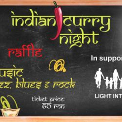 Light into Europe Curry Night